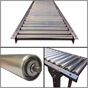 GTA-R-STK50-RG (steel rollers) medium duty gravity conveyor 1.6m Long