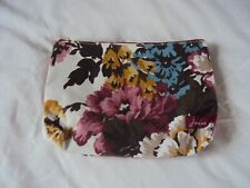 Joules Make up, Toiletry Bag, large 2 compartments Floral vgc