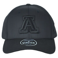 NCAA Zephyr Arizona Wildcats Black Flex Fit Stretch Small Medium S/M Hat Cap
