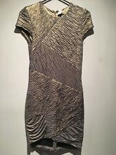 Torn By Ronny Kobo Lilac/Gold Shimmer Knee Length Dress Size S