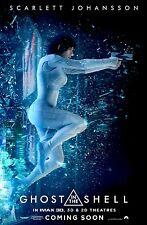 Ghost in the Shell Movie Poster (24x36) - Scarlett Johansson, Michael Wincott v2