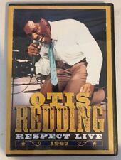 Otis Redding - Respect: Live 1967 (DVD, 2009) Stax, Volt, RARE, SHOUT FACTORY