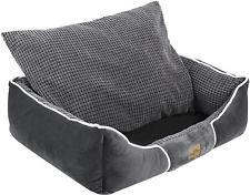 New listing BingoPaw 2-in-1 Dog Bed with Waterproof Inner,Soft Dog Pillow Bed with Removable