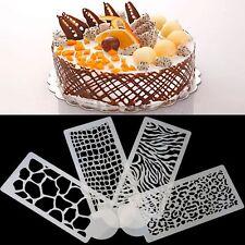 Accessories Silicone Embossing Mould Crocodile Pattern Leopard Grain Cake Mold