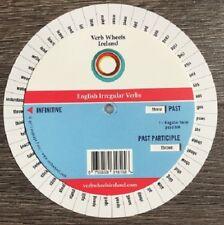 English Irregular Verb Wheel : 100+ Verb Conjugated Easily: Essential Tool