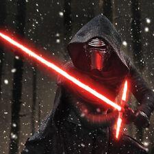 Star Wars Force Awakens Kylo Ren Black Red Ultimate Lightsaber Led Light Top!!