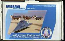 Anigrand Models 1/144 U.S. LIFTING BODIES COMPLETE SET OF 5 AIRCRAFT