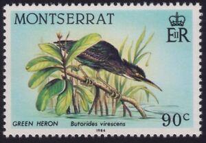 MONTSERRAT1984 Green Heron Bird MNH @BM204