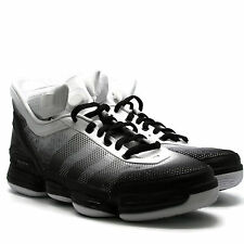 Adidas Mens TS Heat Check Promo Basketball Shoes Black White Size 12.5