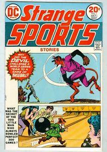 Strange Sports Stories #1 October 1973 VF 1st issue