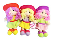 Baby Girls Toddlers Kids My First Rag Doll Cloth Doll Soft Cuddly Toy 23 cm