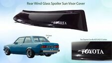 JDM KE70 KE72 KE75 Toyota Corolla Rear Glass Roof Spoiler Visor 1979-1983 Sedan