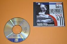 Shostakovich-symphony No. 11/Inbal/mastersonic/DENON 1994 Made in Japan