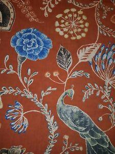 Kali Furnishing Fabric, Paprika - 100% polyester, 1400mm #REDUCED!