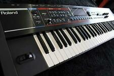Roland Juno-G Synthesizer Keyboard W/ Cable Tested Working Used
