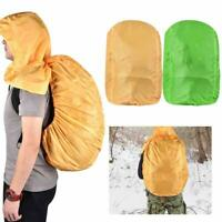 Polyester Waterproof Dustproof Camping Climbing Bag Backpack Cover with Hooded.%