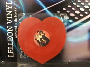 """Tight Fit Secret Heart 7"""" Limited Edition Shaped Red Vinyl JIVEH20 Pop 80's"""