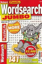 WORDSEARCH PUZZLE BOOK: FAMILY JUMBO #290 - BUY ANY 2 GET ANY 1 FREE