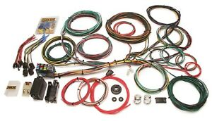 Painless Wiring 10123 21 Circuit Customizable Ford Color Coded Chassis Harness