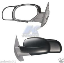 2007-2014 CHEVY SUBURBAN / SILVERADO CLIP SNAP-ON TOWING SIDE MIRROR EXTENSION