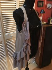 H&M Long Taupe Vest Size S In Excellent Condition