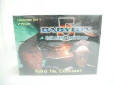 Babylon 5 Narn Vs. Centauri Collectible Card Game Starter Deck Factory Sealed