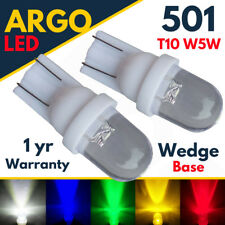 T10 Car LED Bulbs W5W 501 Interior Lights lamps Wedge Hid Side light White 12v