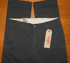 NWT LEVIS CHINO BELOW WAIST TAPERED EXTRA ROOM IN THIGH PANTS GRAPHITE 29 x 32