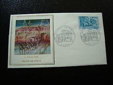 FRANCE - pli 1er jour (thiaude) 24/3/1973 journee du timbre (cy11)