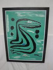 """Gemälde """"Nessie"""" signiert-!"""