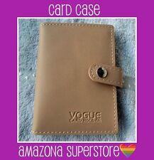BN Handy Credit / I.D. Card Case CAMEL BEIGE GREAT GIFT!