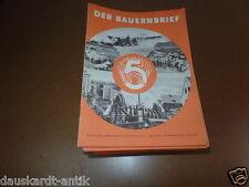 Der Bauernbrief DDR Zeitung für die Landwirtschaft 1952 Propaganda