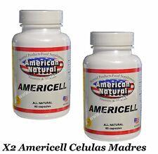 X3 AMERICELL AFA Extract Cell Enhancer  CELULAS MADRES 520mg bioxtron madre cell