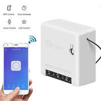 Pour Alexa Google Home Kit 5 PCS Pour SONOFF Mini Wifi Smart Switch Télécommande