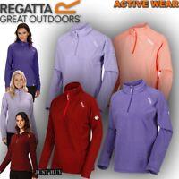 Regatta Womens Montes Fleece Jacket Hiking Walking Running Lightweight Gym Top