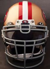 San Francisco 49ers Schutt Rjop-Ub-Dw Football Helmet Facemask/Faceguard (Gray)