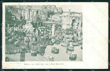 Roma Città Foro Romano Alluvione cartolina QT2191