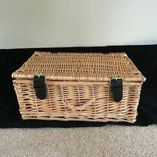 Unbranded Wicker Decorative Baskets with Lid