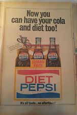 APR 2, 1964 NEWSPAPER PAGE #J5884- PEPSI-COLA- NOW YOU CAN HAVE YOUR COLA