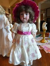 """Vintage 15"""" Doll Bisque head original Germany Marked 390 A310Xm"""