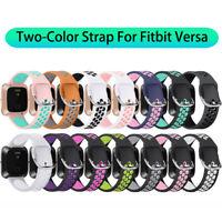 Versa Lite Bracelet Courroie TPU silicone Double Color For Fitbit Versa 2