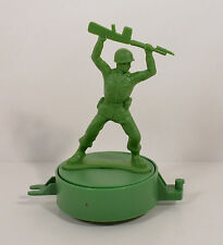 "Green Army Man Soldier 4.5"" Moving Train Car Action Figure Disney Toy Story"