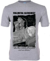 **Legit** Fullmetal Alchemist Edward Ed Al Story Scene Authentic T-Shirt #25397