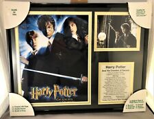 Harry Potter & The Chamber of Secrets collectible matted & framed print & photo