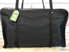 Kate Spade ....Black Nylon/Leather Sz medium