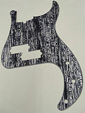 D'ANDREA PRO P BASS PICKGUARD 13 HOLE LAVENDER PEARLOID MADE IN THE USA