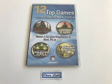 Ubisoft - 12 Amazing Game Trailers For Christmas 2004 - Promo - Xbox PS2 PC GC