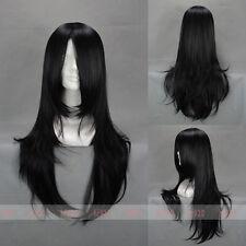 Anime Kuchiki Byakuya / Orochimaru / Hyuuga Neji Cosplay Hair Costume Wig 65cm