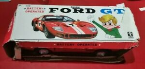 Bandai battery operated Ford GT (not working) made in Japan