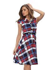 Empire Waist Machine Washable 100% Cotton Dresses for Women